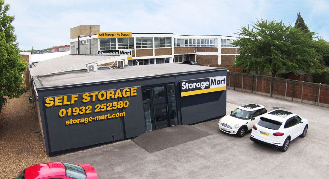 StorageMart - Self Storage Units Near Molesey Road In Walton-on-Thames, England