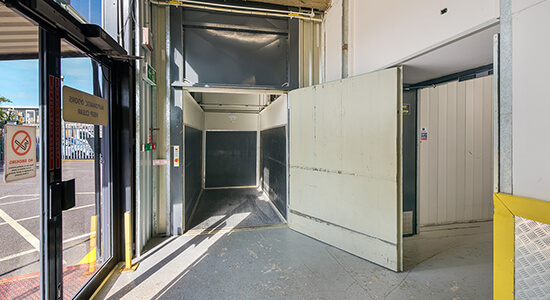 StorageMart Freight Lift - Self Storage Units Near Bognor Regis In Bognor, England