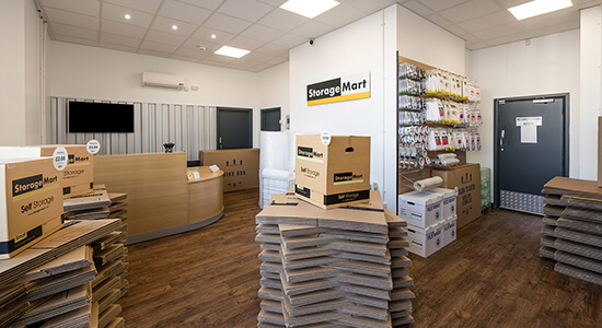 StorageMart Office- Self Storage Units Near Bognor Regis In Bognor, England