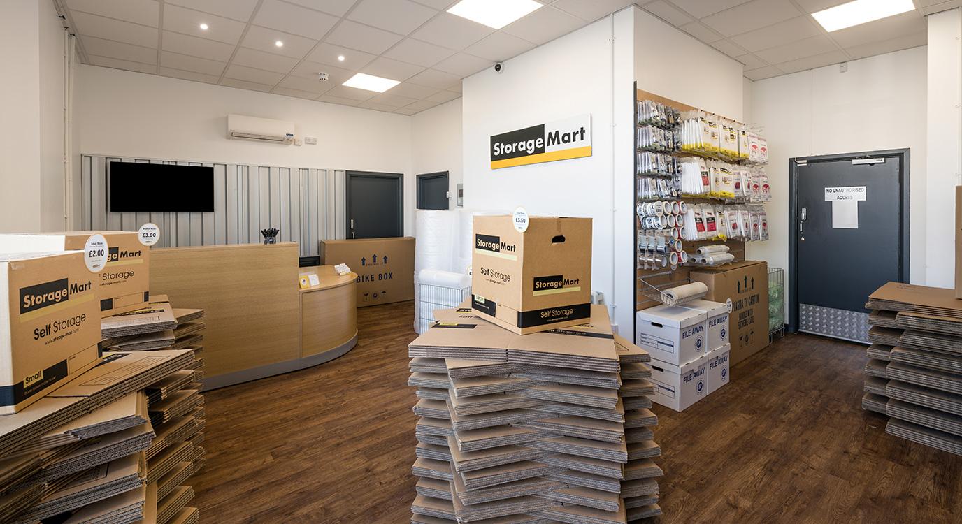 StorageMart - Self Storage Near Bognor Regis In Bognor, England