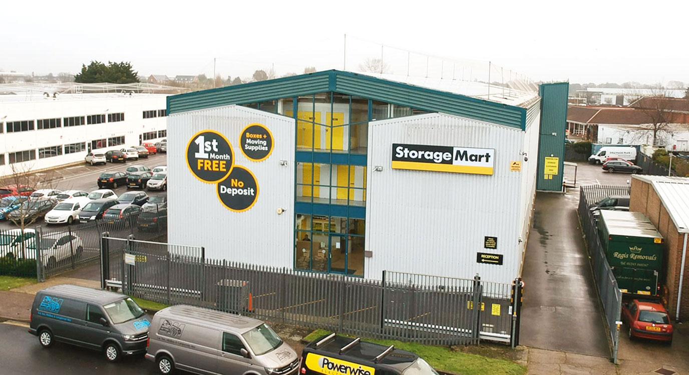 StorageMart - Self Storage Units Near Bognor Regis In Bognor, England