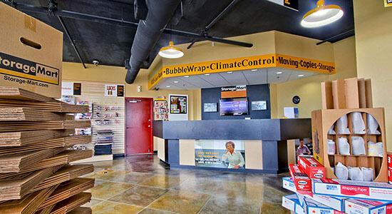 StorageMart Office- Self Storage Units Near Bird Rd & 99th Ave In Miami, FL