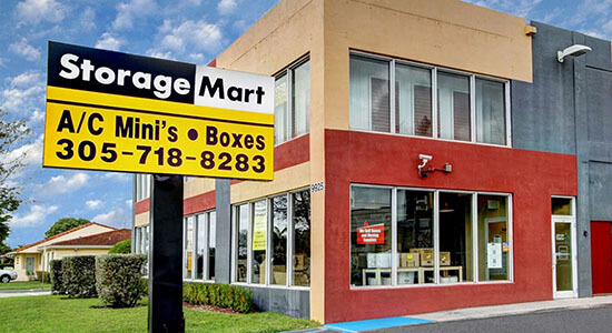StorageMart - Self Storage Units Near Bird Rd & 99th Ave In Miami, FL