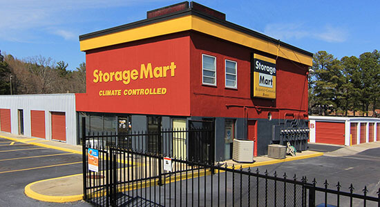 StorageMart - Self Storage Units Near Columbia St & Robertson Mill Rd In Milledgeville, GA