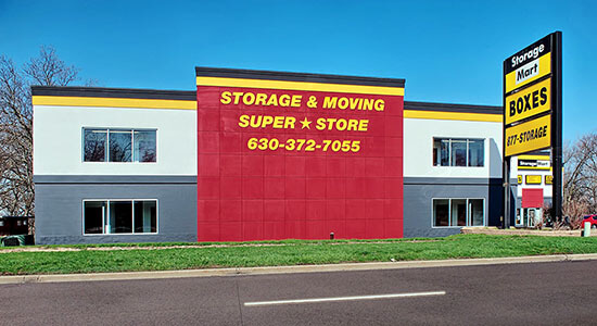 StorageMart - Self Storage Units Near Rt 59 & Lake Street In Elgin, IL