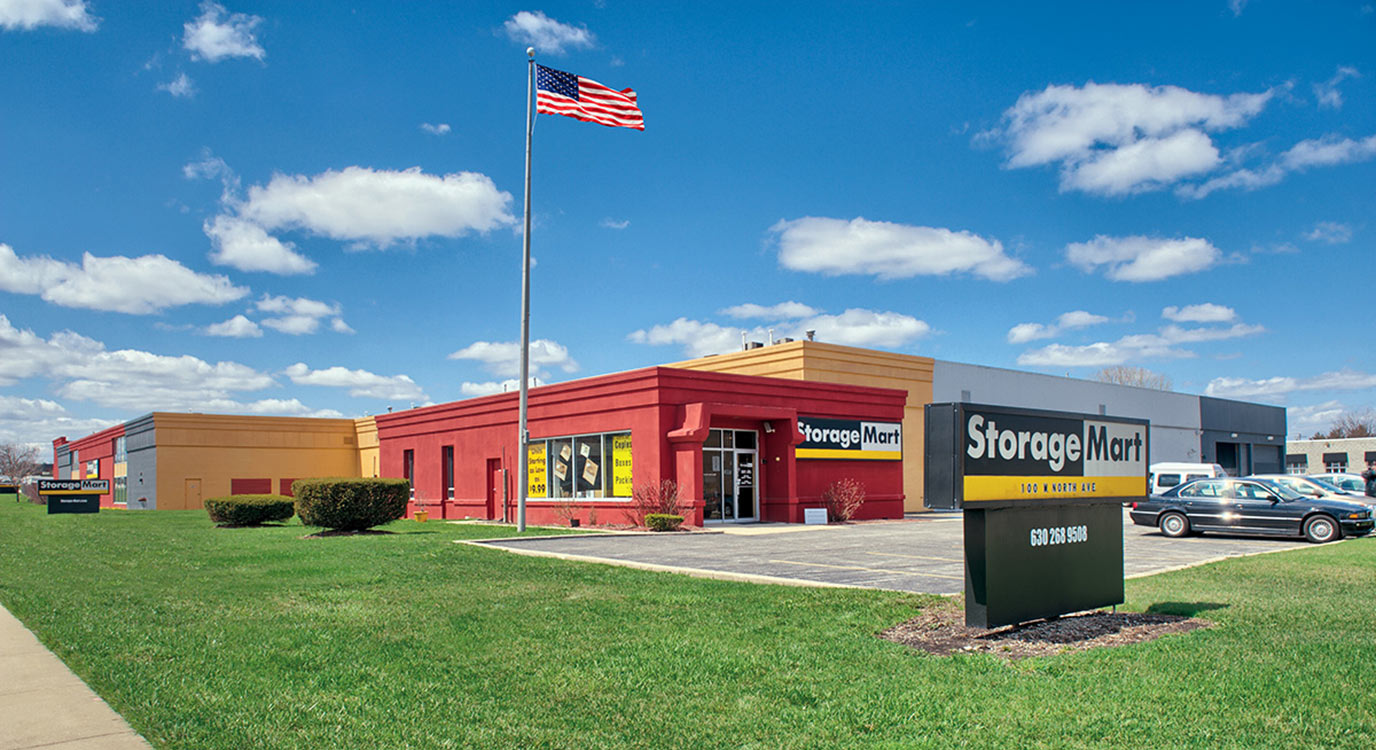 StorageMart - Self Storage Units Near North Ave & I-355 In Lombard, IL