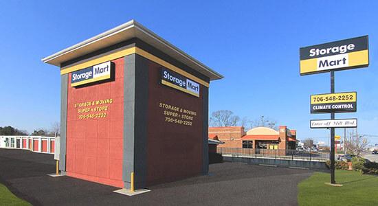 StorageMart - Almacenamiento Cerca De Atlanta Hwy & Cleveland Rd En Athens,Georgia
