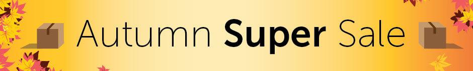 StorageMart Discounts: Autumn Super Sale