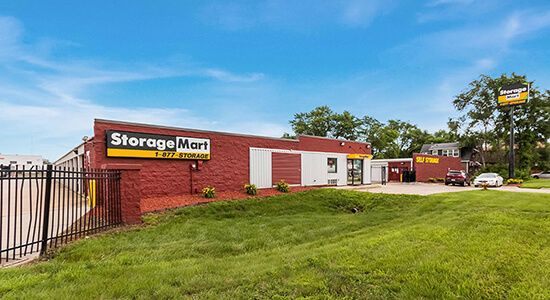 StorageMart exterior - Self Storage Units Near Martin Luther King Jr Pkwy & Urbandale Ave In Des Moines, IA