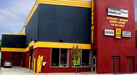 StorageMart en Jamacia Ave en Hollis Queens Almacenamiento