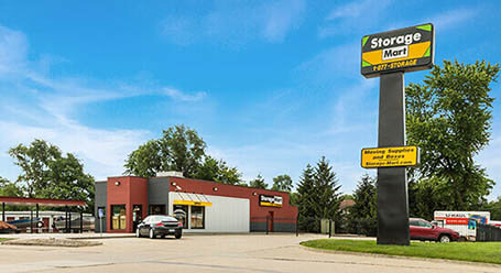 StorageMart en Southwest 63rd Street en Des Moines Almacenamiento