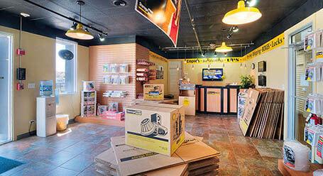 StorageMart en west 159th St en Orland Park instalación de almacenamiento