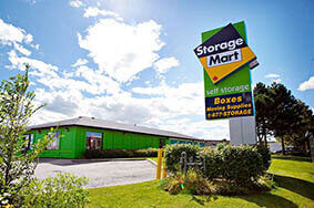 Storage in Milton on Nipissing Rd