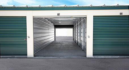 StorageMart on 15 St East in Okotoks Drive-Thru Units