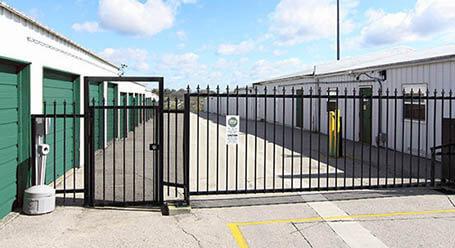 StorageMart on 15 St East in Okotoks Gated Access