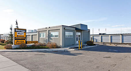 StorageMart on 40 St SE in Calgary self storage facility