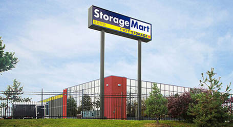 StorageMart on 407 and Warden in Markham Self Storage Facility