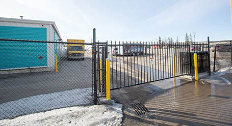 StorageMart on 42 ave SW in Calgary gated Access
