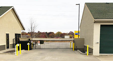 StorageMart on 953 Southeast Oldham Parkway in Lees Summit Gated Access