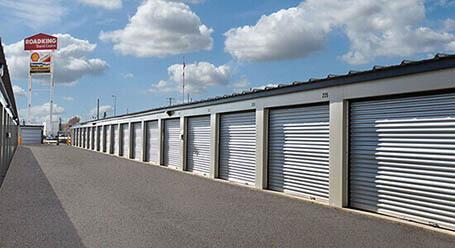 StorageMart on Barlow Trail SE in Calgary drive up units