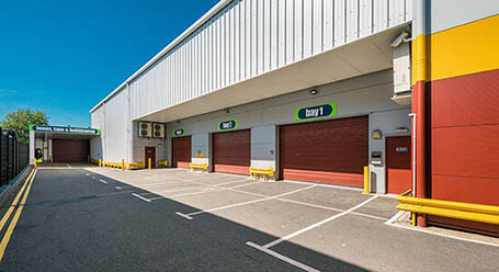 StorageMart on Bircholt Road in Parkwood loading bay