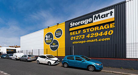 StorageMart on Chapel Road in Brighton self storage
