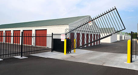 StorageMart on Church St in Lake Charles Gated Access
