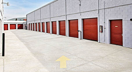 StorageMart on Clayton Road in Concord Drive-Up Units