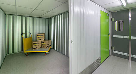 StorageMart on Ditchling Common in haywards heath interior storage units