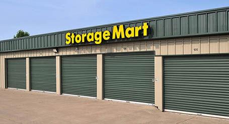StorageMart on East Santa Fe Street in Gardner Drive-Up Units