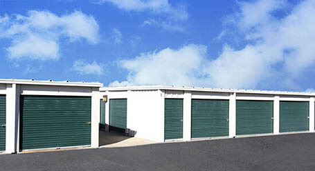 StorageMart on Frontage Road in Merriam Drive-Up Units