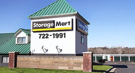 StorageMart on Frontage Road in Merriam Self Storage