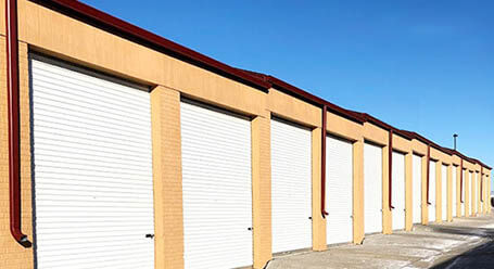 StorageMart on Harrison St in Omaha  Drive-Up Units