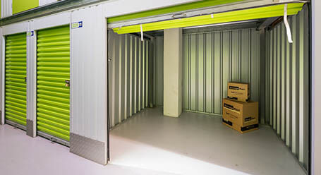 StorageMart on Ingleby House in Brighton interior storage units
