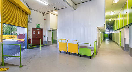StorageMart on Ingleby House in Brighton self storage Loading Bay
