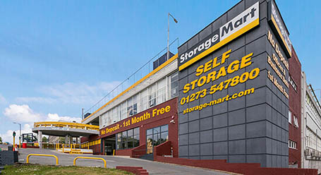 StorageMart on Ingleby House in Brighton self storage