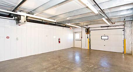 StorageMart on Kingsview Blvd near Airdrie loading bay