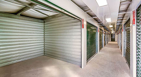StorageMart on MacDonald Road in Collingwood Interior Heated Unit