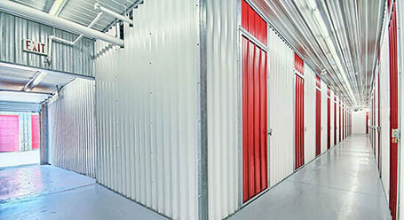 StorageMart on Middlefield Road in Scarborough Interior Heated Units