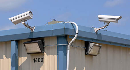 StorageMart on Nipissing Rd in Milton Security Cameras