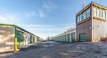 StorageMart on North 102 Street in Omaha Self Storage