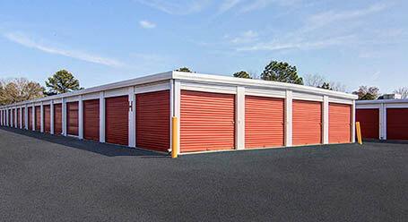 StorageMart on North Columbia Street in Milledgeville Drive Up Units