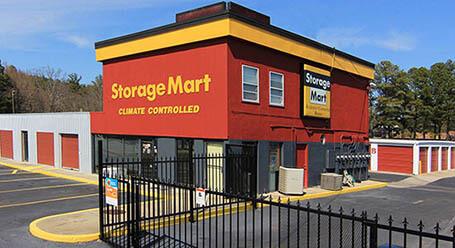 StorageMart on North Columbia Street in Milledgeville Self Storage