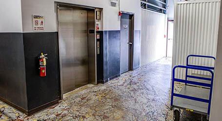 StorageMart on North Eola Road in Aurora Elevator Access