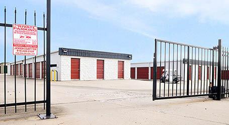StorageMart on Northwest Jefferson Street in Grain Valley Gated Access