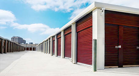 StorageMart on Olmos Drive in San Antonio Drive-Up Units