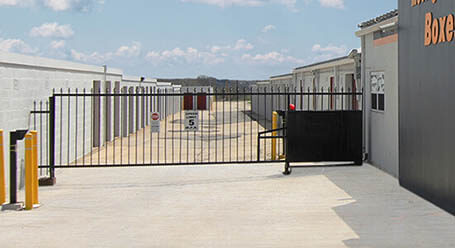StorageMart on Paris Road in Columbia Gated Access