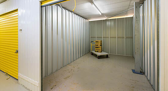 StorageMart on Ridgewood Industrial Estate in Uckfield indoor storage units