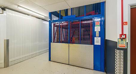 StorageMart on Ridgewood Industrial Estate in Uckfield freight lift