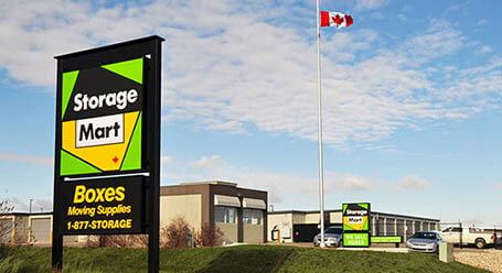 StorageMart on Sandra Schmirler Way in Regina Self Storage